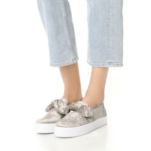 NEW Rebecca Minkoff Slip On Fashion Sneakers